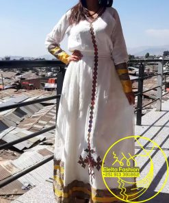 Ethiopian Traditional Dress Fashion ELELTA1