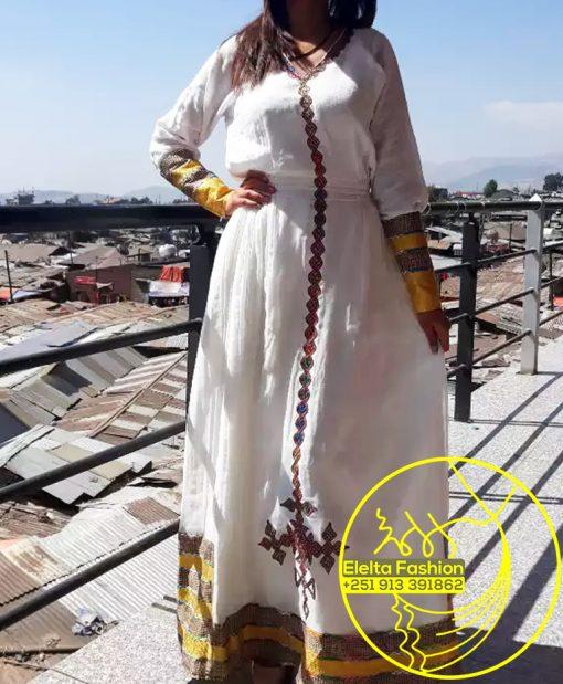 Ethiopian Traditional Dress Fashion ELELTA1
