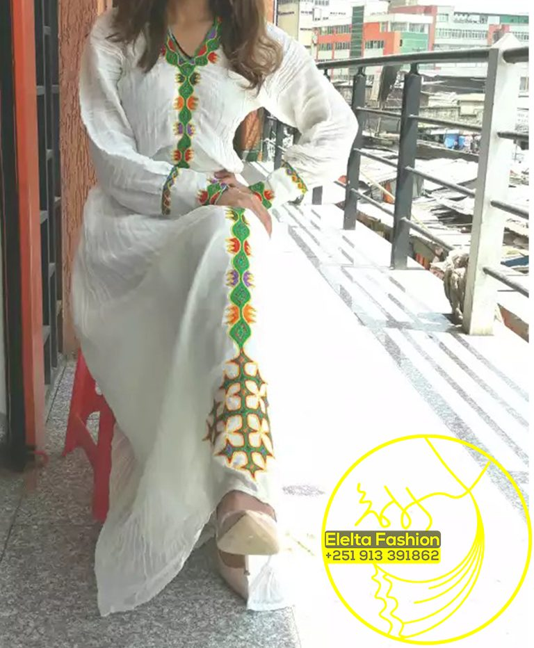 Ethiopian Traditional Dress Fashion ELELTA11