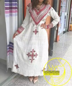 Ethiopian Traditional Dress Fashion ELELTA12