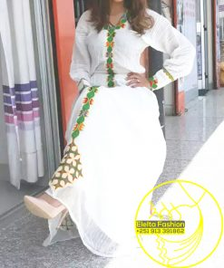 Ethiopian Traditional Dress Fashion ELELTA13