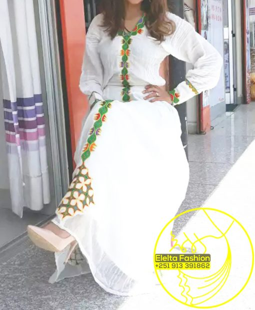 Ethiopian Traditional Dress Fashion ELELTA13