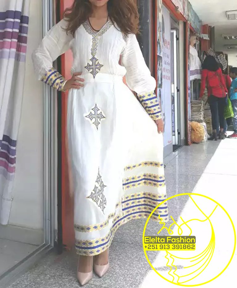 Ethiopian Traditional Dress Fashion ELELTA17