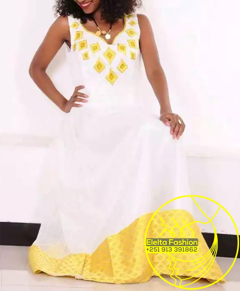 Ethiopian Traditional Dress Fashion ELELTA18