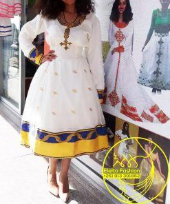 Ethiopian Traditional Dress Fashion ELELTA19