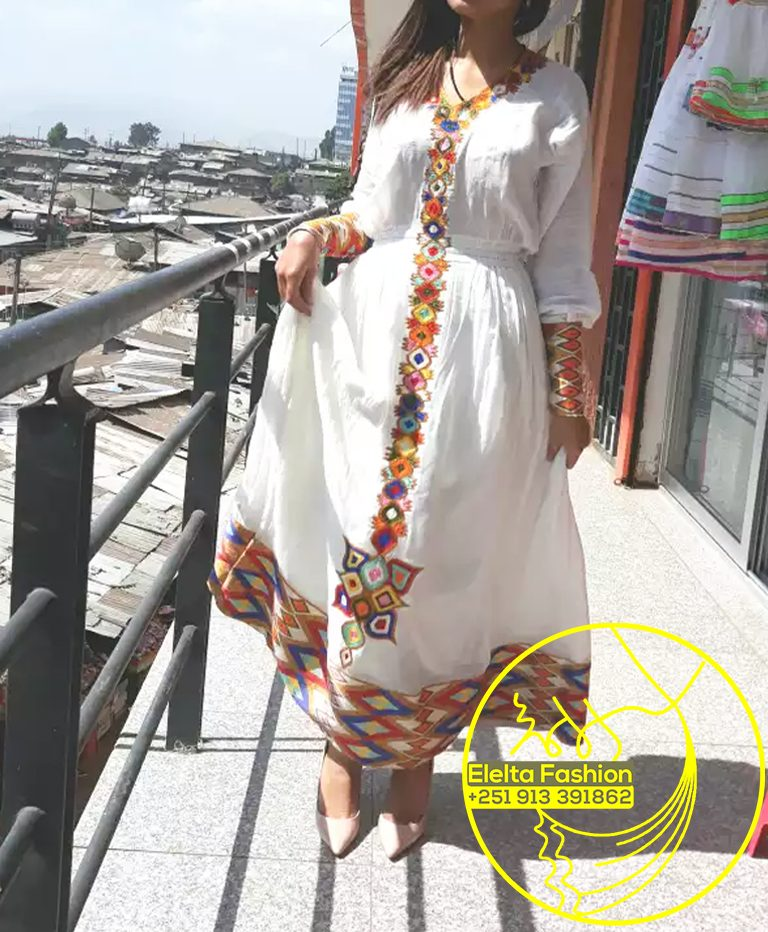 Ethiopian Traditional Dress Fashion ELELTA2