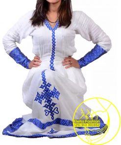 Ethiopian Traditional Dress Fashion ELELTA21