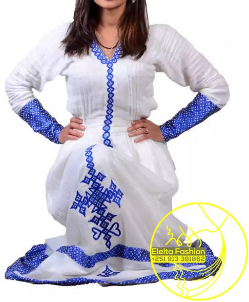 Ethiopian Traditional Dress Fashion ELELTA21