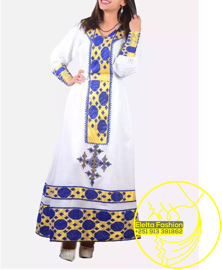 3a9669695f3 Ethiopian Traditional Dress Fashion ELELTA25 – Chereka.NET