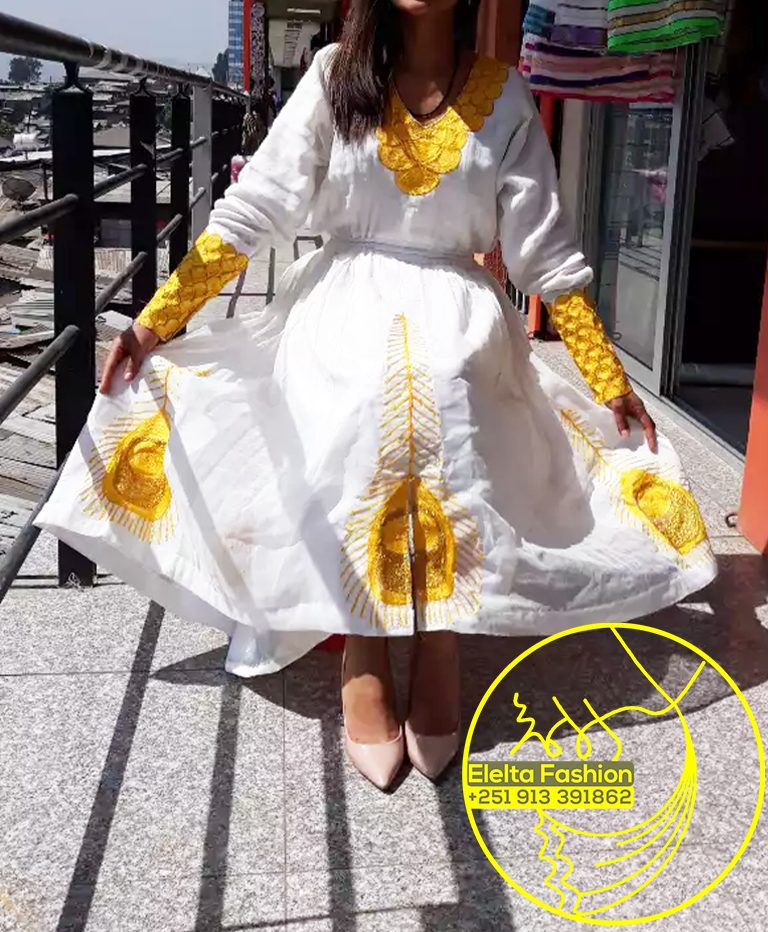 Ethiopian Traditional Dress Fashion ELELTA3
