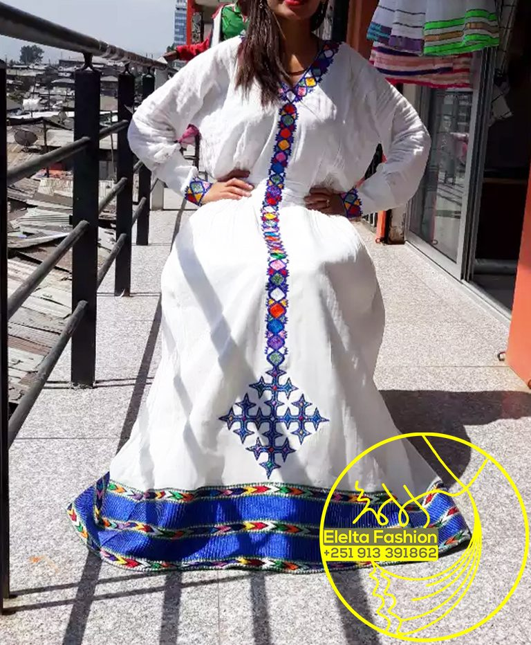 Ethiopian Traditional Dress Fashion ELELTA4