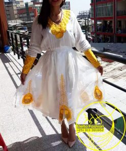 Ethiopian Traditional Dress Fashion ELELTA6