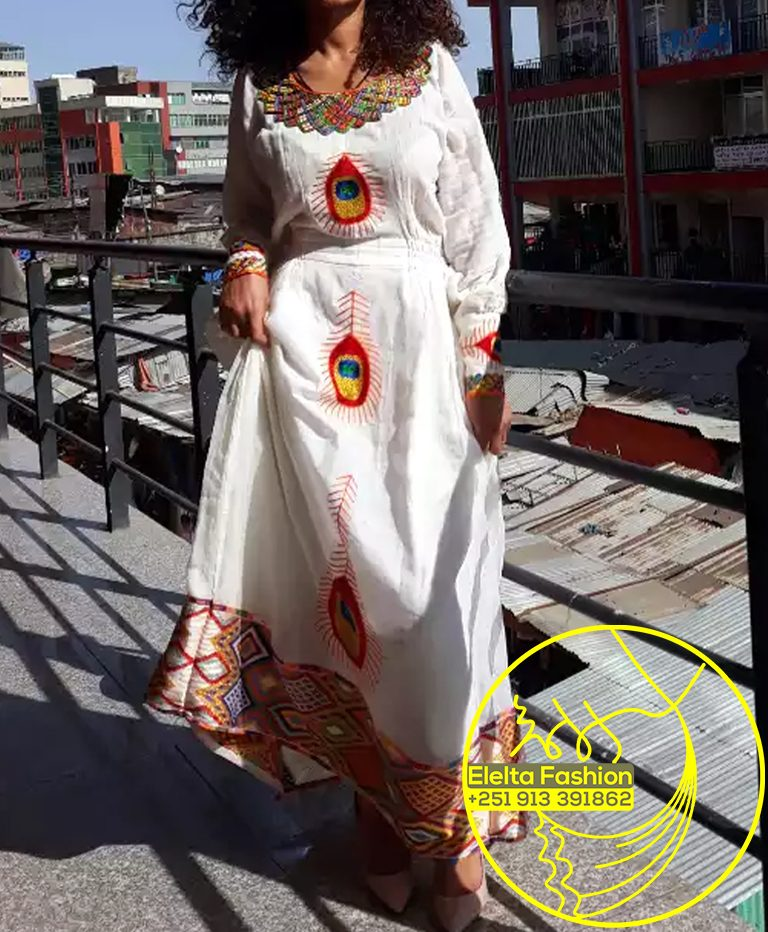 Ethiopian Traditional Dress Fashion ELELTA7